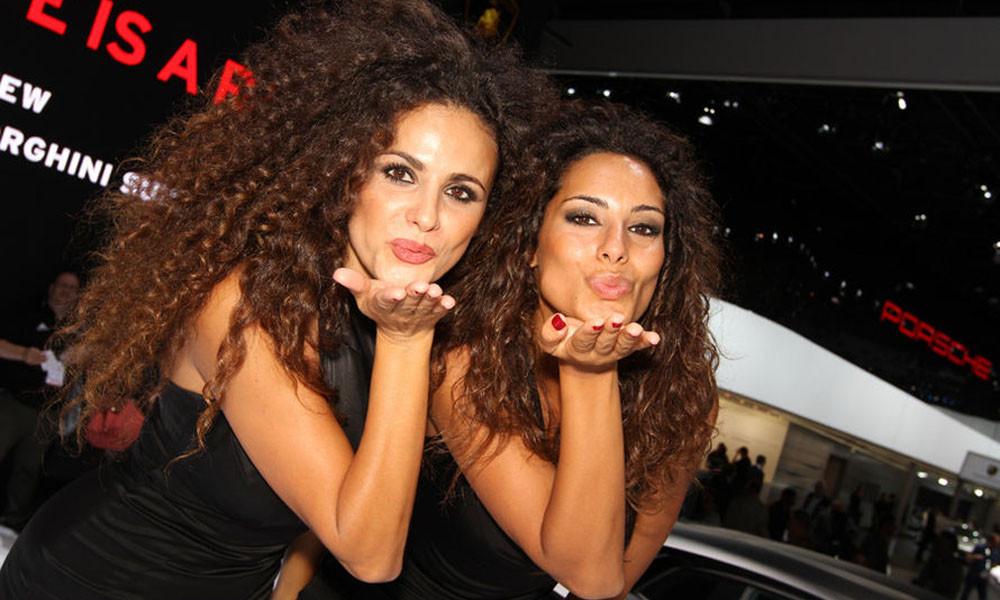 Лучшие девушки с мотор-шоу 2011 года