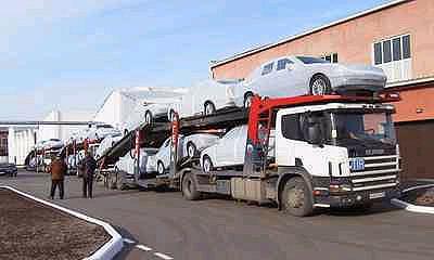 Импорт легковых автомобилей в Россию вырос