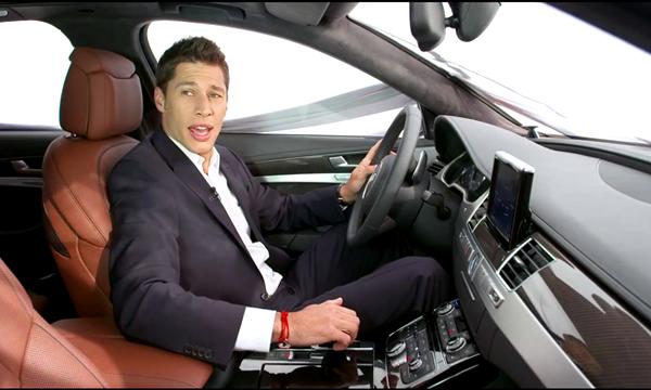 Audi показала салон обновленной A8