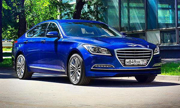 Красота по-корейски. Тест-драйв Hyundai Genesis