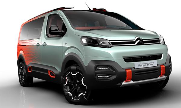 Citroen показал новый фургон SpaceTourer