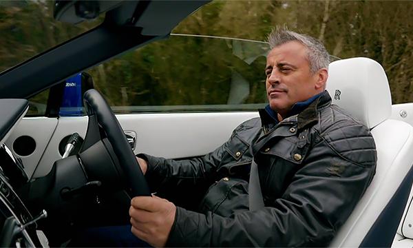 Актер Мэтт Леблан решил остаться ведущим Top Gear