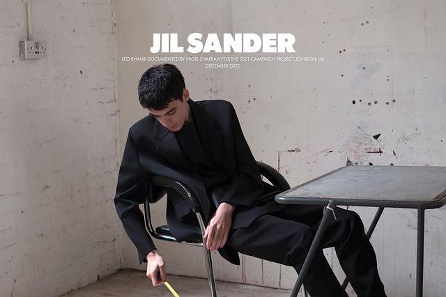 Кадр из рекламной кампании коллекции Jil Sander сезона весна-лето 2021
