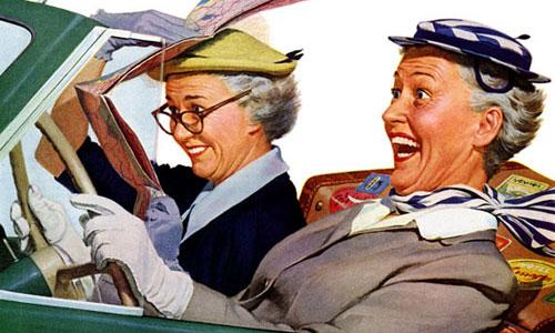 Самые лучшие водители - женщины за 30