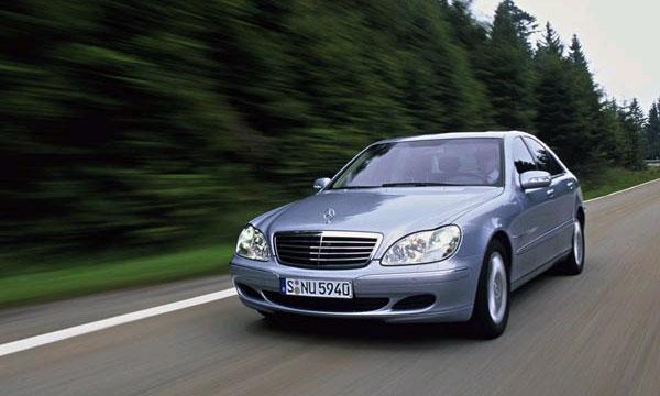 Mercedes-Benz отозвал 23 677 автомобилей S-класса в Китае
