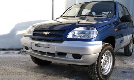 GM-АвтоВАЗ обновил Chevrolet Niva