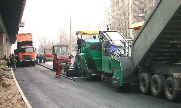 Росфиннадзор: При строительстве дорог воруют 40% средств