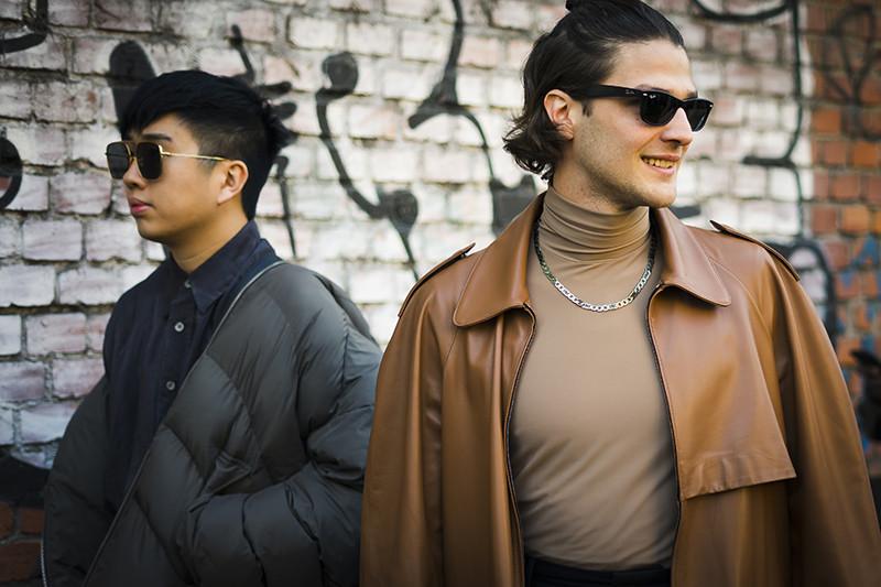 Стритстайл на Неделе моды в Милане, осень-зима 2020-2021