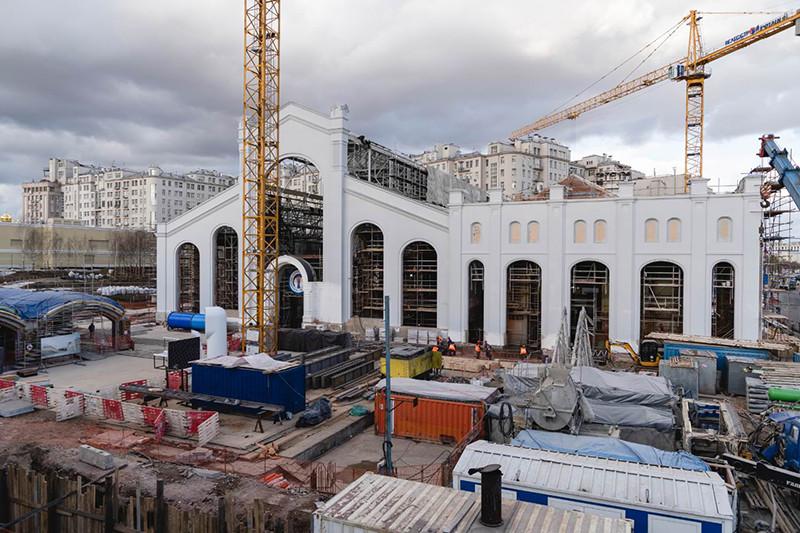 Стройка культурного пространства ГЭС-2