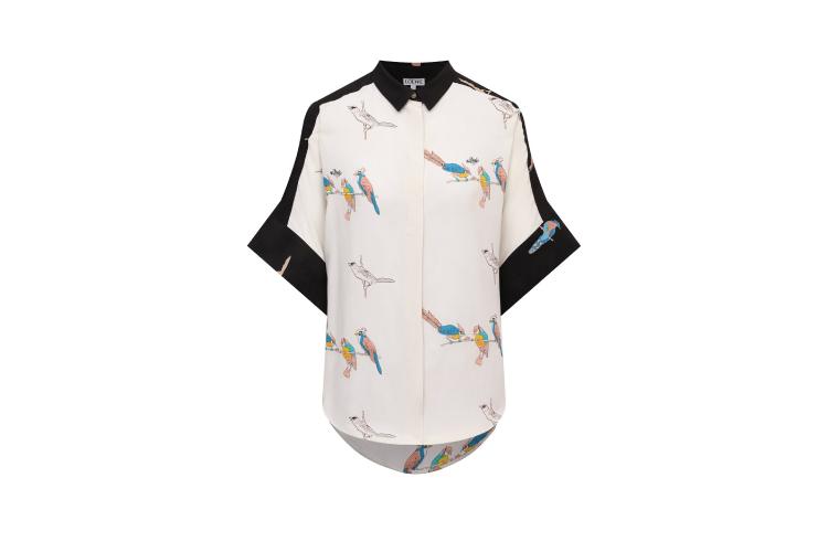 Рубашка из вискозы Loewe x Paula's Ibiza, 67850 руб.