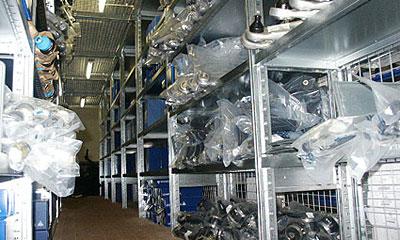 Chevrolet открыла первый региональный склад в Екатеринбурге