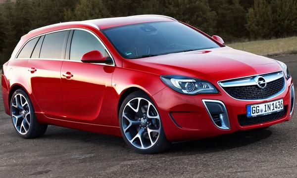 Opel Insignia OPC получила доработанную подвеску