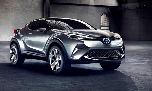 Кроссовер Toyota С-HR превратили в гибрид