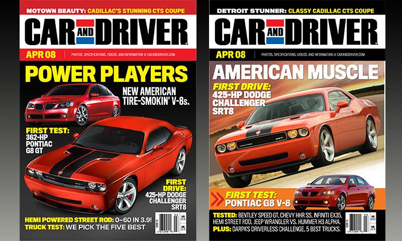 Опубликованы первые фото Dodge Challenger SRT8