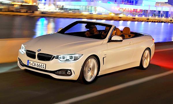 BMW объявила цены на 4-Series в кузове кабриолет
