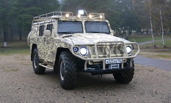 Военный внедорожник Тигр выпустят в гражданской версии