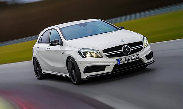 Mercedes-Benz представит самый быстрый хэтчбек