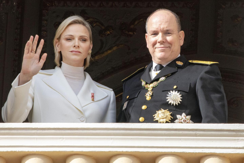 Княгиня Шарлен и князь Альбер II