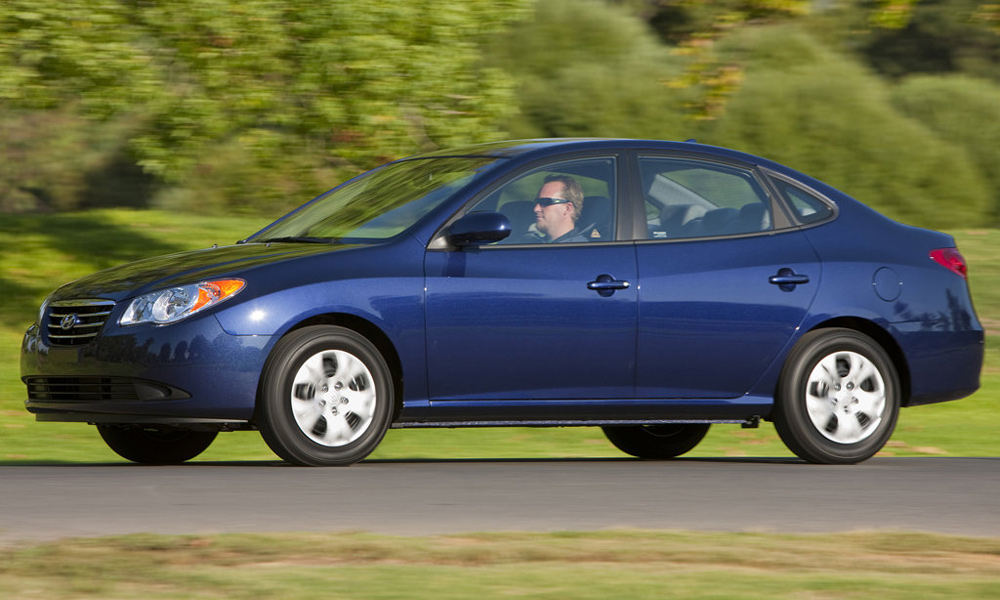 Hyundai Elantra Blue