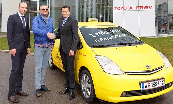 Таксист проехал на Toyota Prius миллион километров без серьезных поломок