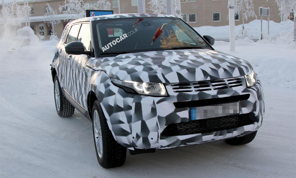 Land Rover Freelander 3 попал в объективы фотошпионов