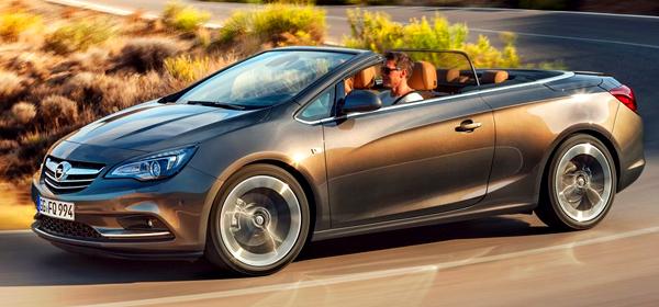 Opel покажет кабриолет Cascada с 200-сильным мотором