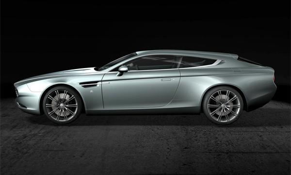В тюнинг-ателье Zagato построили эксклюзивный Aston Martin