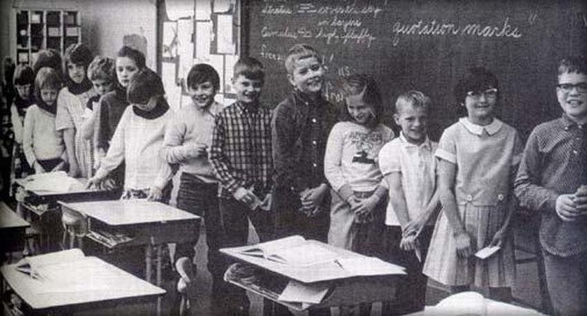 Группа детей, над которыми был поставлен эксперимент