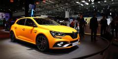 Renault Megane RS  Новый «горячий» Megane RS на 40кг легче предшественника, оснащается полноприводной трансмиссией и официально является самым быстрым автомобилем в истории RS-линейки