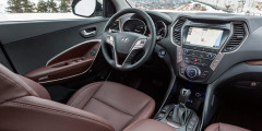 Hyundai Grand Santa Fe Limited Edition. Обратите внимание на уникальный цвет обивки. Малый тираж спецверсии объясняют «разведкой». Надо думать, что если машины понравятся, их выпустят больше.