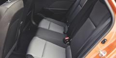 В новом Solaris места для ног стало на 26 мм больше, чем в предшественнике.