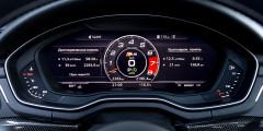 Audi virtual cockpit, дебютировавший на новом поколении TT, доступен и для A5