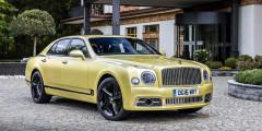 Bentley Mulsanne Speed  Не могла подобная подборка обойтись без участия Bentley. Самая быстрая версия седана Mulsanne (Speed) разгоняется до 100 км/ч за 4,9 с, имеет мощность 537 л.с. и цену в 23534000 рублей.