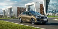 Citroen C4 Sedan HDI  5,9 л/100 км  Даже после обновления французы предлагают в России дизельные версии седана с мотором 1,6 л (114 л.с.) и механической коробкой передач. В списке характеристик — теже 5,9 л/100 км, а за городом седану требуется всего 4,2 л на 100 километров. При этом дизельные версии C4 продаются дешевле большинства бензиновых.