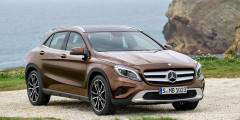 1. Mercedes-Benz GLA — 93,23%