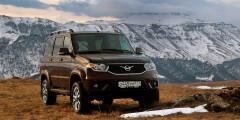 УАЗ Patriot  Самый дешевый на сегодняшний день рамный внедорожник на российском рынке — УАЗ Patriot. Цена на машину с 2,7-литровым бензиновым мотором начинается с отметки в 817000 рублей.