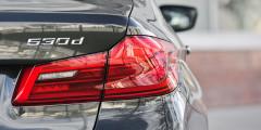 Под капотом BMW 530d рядный 6-цилиндровый турбодизель с моментом 620 ньютон-метров