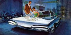 В самом начале своей многолетней карьеры в Cadillac и Buick такими видел автомобили будущего известный дизайнер Уэйн Кади. Похожей внешностью в итоге обладали некоторые американские модели -например, Pontiac Firebird. А двери типа «крыло чайки» до сих пор используются на серийных суперкарах. Скажем, в легендарном Mercedes-Benz SLS AMG.