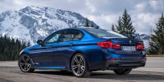 Клиренс BMW M550i на сантиметр меньше, чем у стандартных машин.