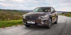 Mazda CX-5  Несмотря нато, чтовнедалеком будущем нароссийском рынке появится новое поколение успешного кроссовера CX-5, он все еще является флагманом продаж Mazda вРоссии. Дополнительный шанс увеличить продажи—начальная комплектация CX-5 c «автоматом» и150-сильным мотором, которая стоит 1450000 рублей. Версию сМКП можно купить за1369000 рублей.