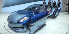 Borgward  Возрожденная немецкая марка Borgward представила во Франкфурте прототип своего будущего спорткара, построенного по мотивам классической модели Isabella. Это будет машина с низким кузовом, широкими колесными арками, большими колесами и длинным капотом.
