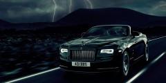 Rolls-Royce Dawn Black Badge  Специальная серия Rolls-Royce Dawn, представленная в Гудвуде, носит имя Black Badge и оснащается 6,6-литровым двенадцатицилиндровым мотором мощностью 602 лошадиные силы. До 100 км/ч машина разгоняется за 4,9 секунды.