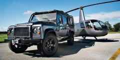 East Coast Defender  Компания East Coast Defender из Флориды известна своим проектом Kingsman — Land Rover Defender с мотором V8 от Chevrolet Suburban и оцинкованным шасси. На очереди реновация самых первых Range Rover — проект «Альфа». Машины полностью разбирают, перешивают интерьер, устанавливают модернизированную подвеску. Под капот ставят моторы V8 от General Motors мощностью 330-430 лошадиных сил. Все для того, чтобы перенести классический автомобиль в XXI век, не жертвуя наследием.