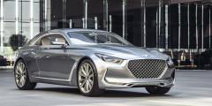 Genesis Coupe Hyundai выпускала двухдверку Genesis Coupe до прошлого года, но с обособлением бренда Genesis корейскому производителю потребовалась более крупная и премиальная модель на базе будущего седана G70. На новую модель намекнул концепт Hyundai Vision G Coupe. Вполне возможно, что флагманский спорткар будет электрическим. Согласно плану развития бренда, старт купе намечен на 2020 г, и оно пропустит вперед не только седан G70, но и два кроссовера.