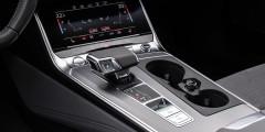 Вместо классического селектора у новой Audi A6 появился удобный джойстик.