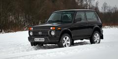 Lada 4x4 Открывает рейтинг старушка «Нива». Впрочем, уже больше 10 лет автомобиль продается под именем Lada 4x4, так как историческое имя в 2006 г. отошло модели выпускаемой совместном предприятием GM-АвтоВАЗ. 4x4 – самая старая модель в линейке «Лады». В апреле машина отметила 40-летие на конвейере. Несмотря на солидный возраст, машина остается востребованной. Во многом благодаря своей доступной цене и способностям на бездорожье. Еще бы – дорожный просвет «Нивы» составляет 210 миллиметров.