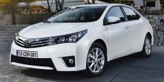 Toyota Corolla  Один изсамых популярных вмире автомобилей—Toyota Corolla—попал ивэтот рейтинг. Несмотря нападение посравнениюспрошлым годом на1%, модель очень популярна навторичном рынке России:22,1тыс. реализованных автомобилей ивторое место.