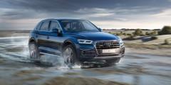 Audi Q5  На сегодняшний день Audi предлагает Q5 в России всего с одним мотором — 249-сильной двухлитровой «четверкой». Доплата может составить 120 тыс. рублей.