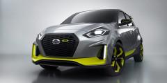 Datsun Go Live  Компания Datsun, в свою очередь, решила украсить для GIIAS 2017 доступный хэтчбек Go. Концепт Go Live, адресованный молодежи, снабдили широкими спортивными бамперами и поставили на 17-дюймовые легкосплавные диски. Решетка радиатора увеличилась в размерах, фары стали светодиодными, а заднюю багажную дверь украсили спойлером. Часть деталей обвеса и спицы колес выкрасили в ярко-зеленый цвет. Технические данные не сообщаются, но серийный хэтчбек Go оснащен 68-сильным бензиновым мотором в паре с пятиступенчатой МКП.