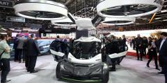 За концепт летающего автомобиля Italdesign проголосовали 17% журналистов